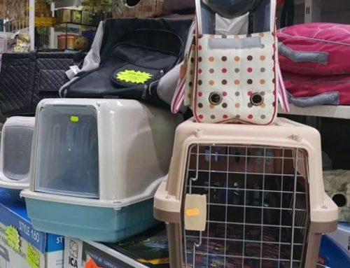 Bolsas de viaje y transportin para tus mascotas